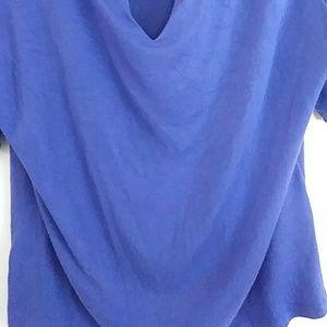 Ellen Tracy Tops - Ellen Tracy blue blouse